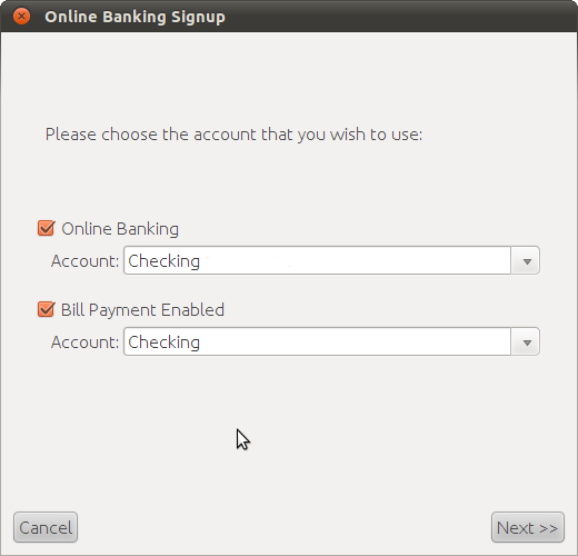 Setting up a direct online banking connection – The Infinite Kind